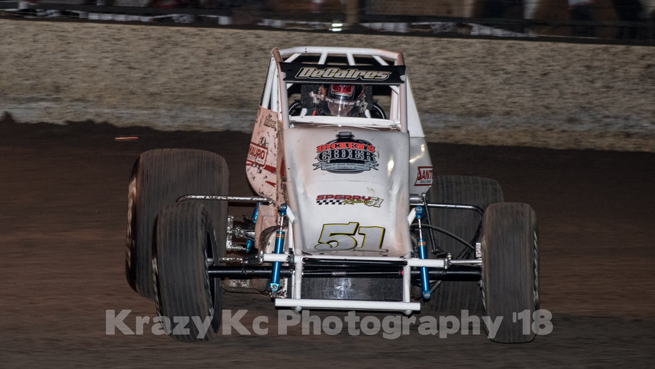 Bubba DeCaires Continues to Impress; 8th Saturday Night in Placerville, CA