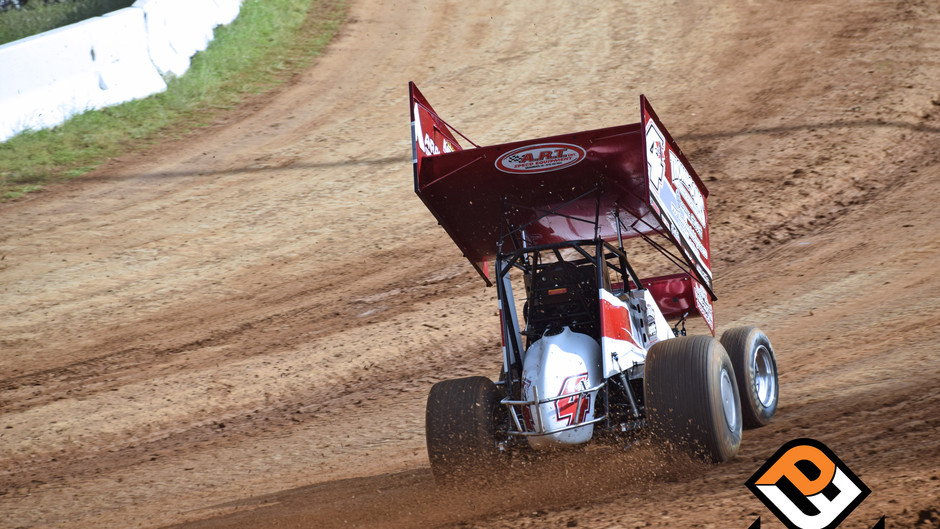 Eventful Night Sees Justin Sanders Battle to 7th Place Finish at Placerville Speedway
