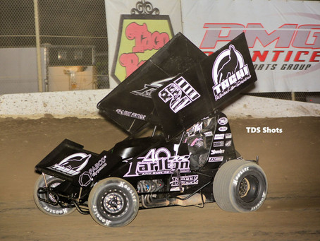 Tommy Tarlton Hard Charges at Ocean Speedway