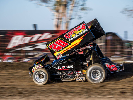 Cory Eliason Tightens Up KWS Championship Battle With Second Place Finish in Hanford, CA