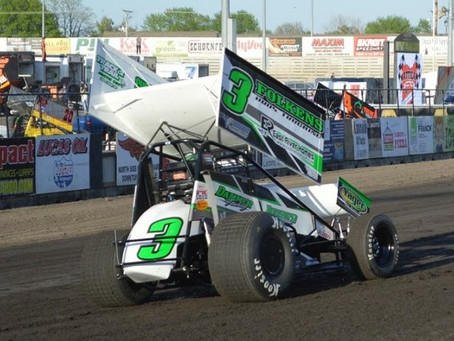 TK 16th at Knoxville after Mid-Race Spin