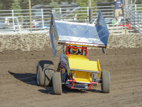 Sanders Charges To 7th at the Ocean Speedway