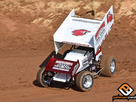 Sanders 6th at Placerville Speedway with Dale Miller Motorsports