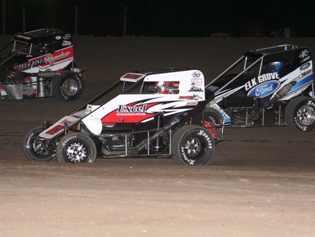 Austin Liggett Scores USAC win at Merced Speedway as Shannon, Long, and Falkenberg Also Win as Fan A