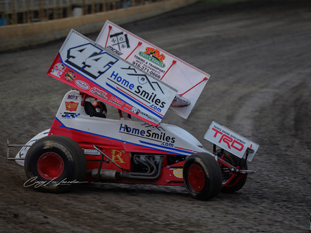 Jesse Love Lands on Podium During Debut with Cox Racing