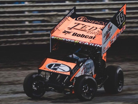 Ian Madsen Lands on World of Outlaws Podium at Knoxville Raceway