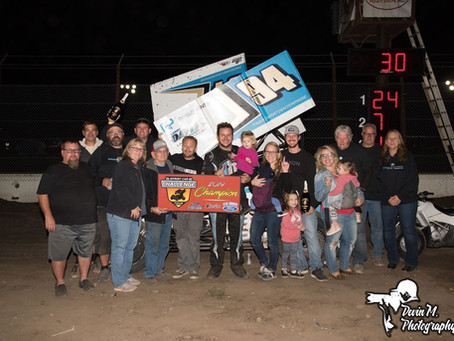 Tiner Hirst Enterprise and Kyle Hirst Claim SCCT Title with 8th Place Finish on Saturday Night