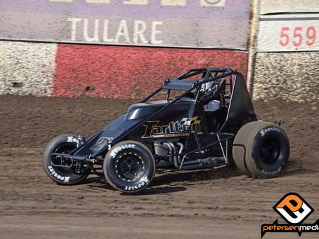 Ryan Bernal Sheds Wings and Runs Second with Tarlton Motorsports