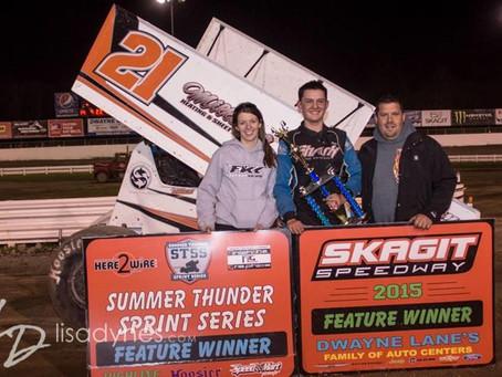 Price Wins Thriller At Skagit Speedway