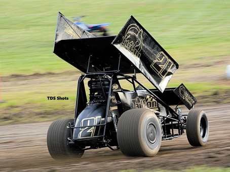 Tommy Tarlton Picks Up Sixth Place Finish at Ocean Speedway