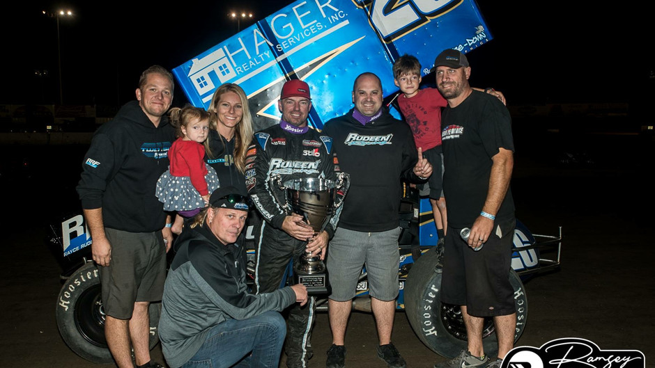 Willie Croft and Rudeen Racing Win Trophy Cup Finale with KSE Racing Products