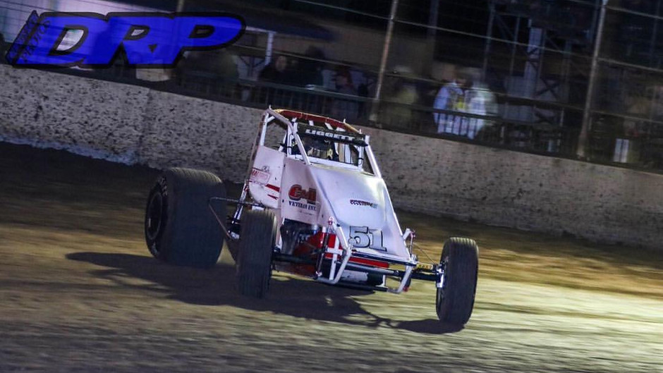 Austin Liggett and Brian Sperry Racing Have Strong First Night Out