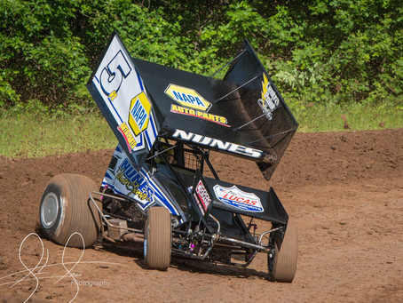 Nunes Seventh at Marvin Smith Memorial Opener Before Mechanical Issues Knock Him off Sunday Podium
