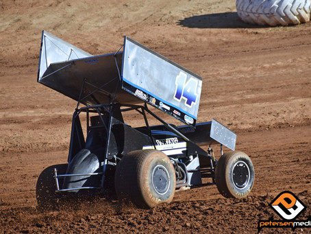 Steven Tiner Third at Placerville Speedway