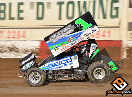 Moore's Trophy Cup Ends in Saturday Night 'B' Main