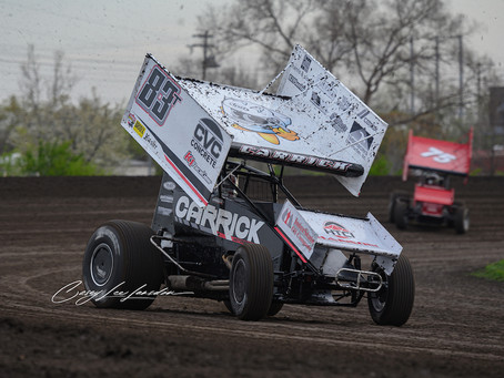 Tanner Carrick Battles for Silver Cup Top-10