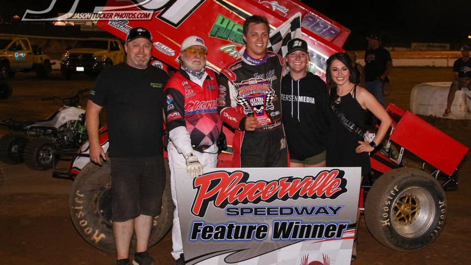 Shane Hopkins Breaks Through and Scores First Career Victory