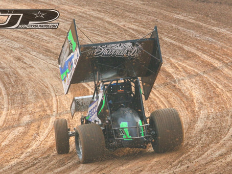 Moore 12th at Placerville Speedway after Mid Race Miscue
