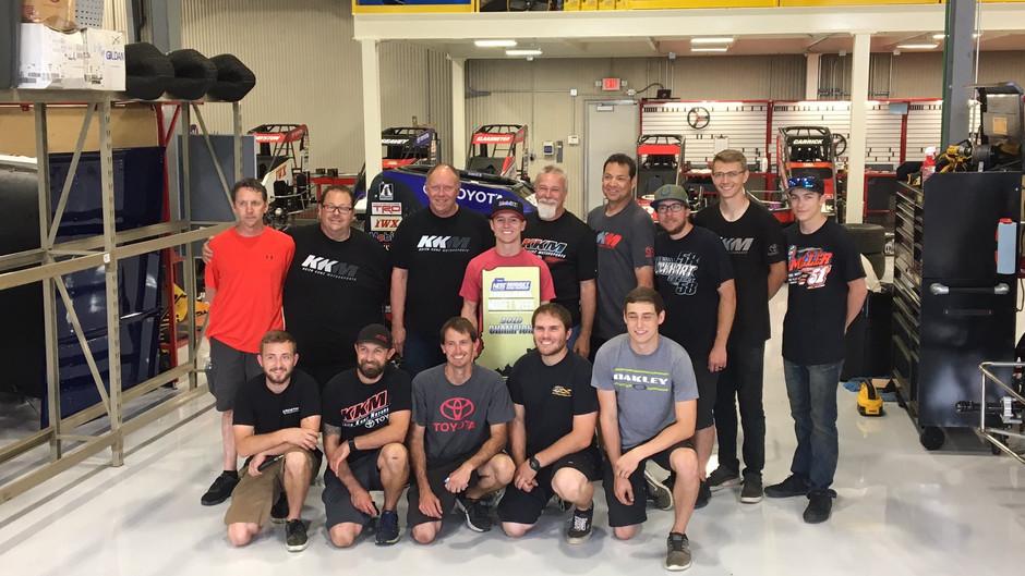 Logan Seavey Steer's to Midget Week Title with KSE Racing Products