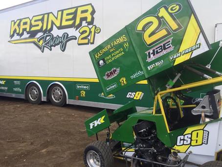Kasiner Runs Well in Super 600 at Lonnie Kasier Memorial