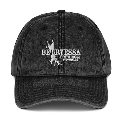Berryessa Lake Vintage Cotton Twill Cap