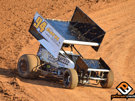 Steven Tiner's Night in Hanford Ends Battling for the Lead