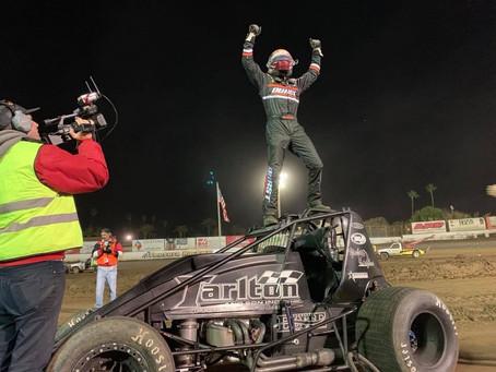 Carson Macedo Closes Tarlton Motorsports' 2018 Season in Victory Lane