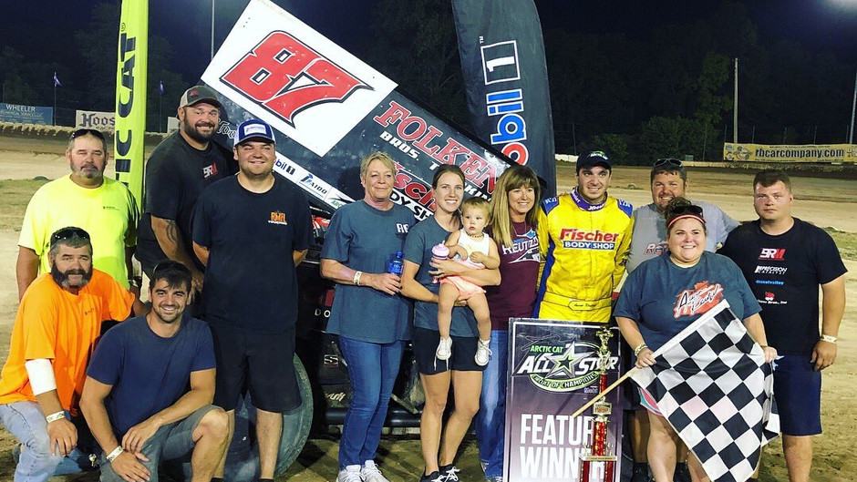 Aaron Reutzel Sweeps All Star Weekend with KSE Racing Products