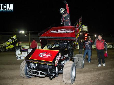 Cory Eliason and Antaya Motorsports Close KWS Season Out in Victory Lane