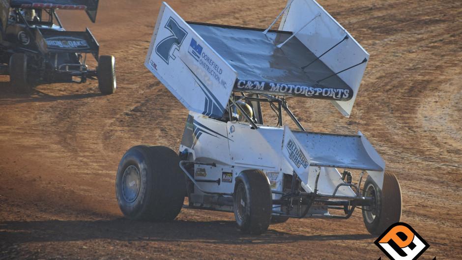 Tiner's Alphabet Bid Comes Up Short at Placerville Speedway