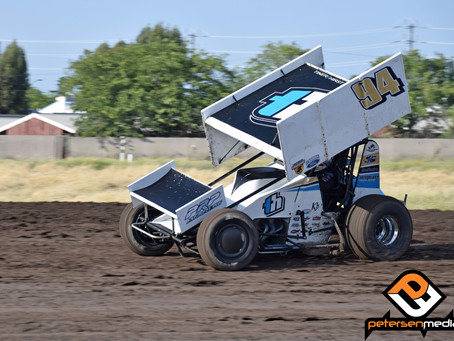 Kyle Hirst Seventh at Stockton Dirt Track as THE Heads to Northwest Speedweek