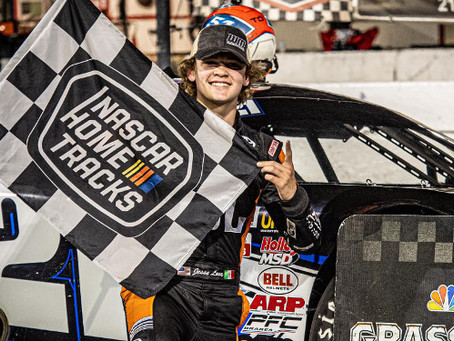 The Driver's Journal – Big 2020 on the Books  for Jesse Love