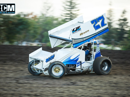 Early Contact Ends Shane Hopkins and M&S Motorsports' Adobe Cup