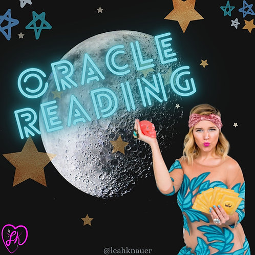Book an Oracle Card Reading with Leah!
