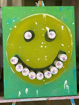 """Medicated"" - 16x20 Acrylic"