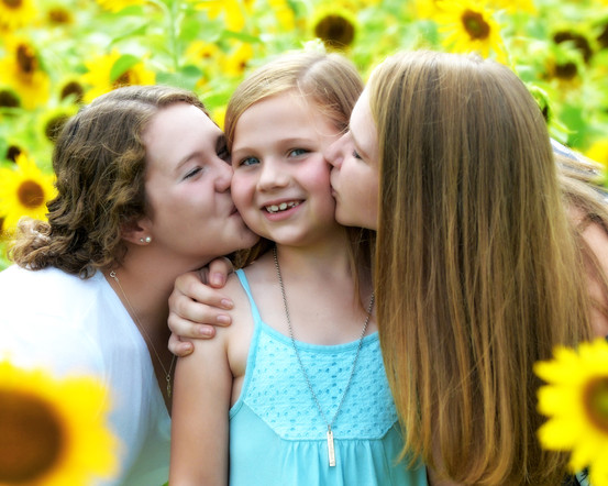 Sunflower sister love