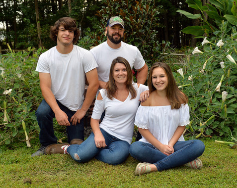 Backyard Family Photos
