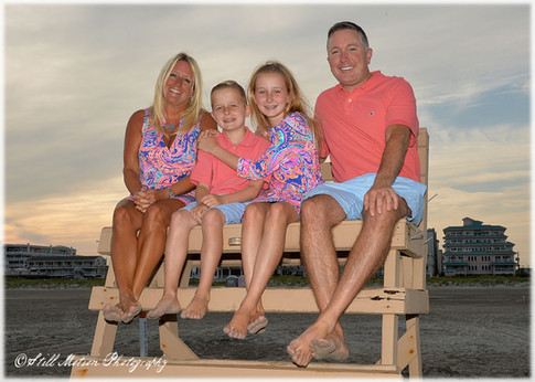 Wildwood beach portraits