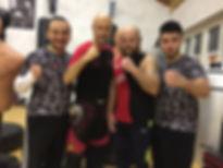 Sifu Koray,Sifu Thomas, Gastboxer Sezai