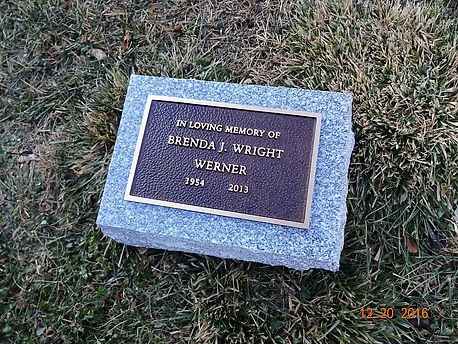 Our bronze markers are an age-old tradition that features a beautifully engraved bronze plaque mounted to a sturdy granite base.
