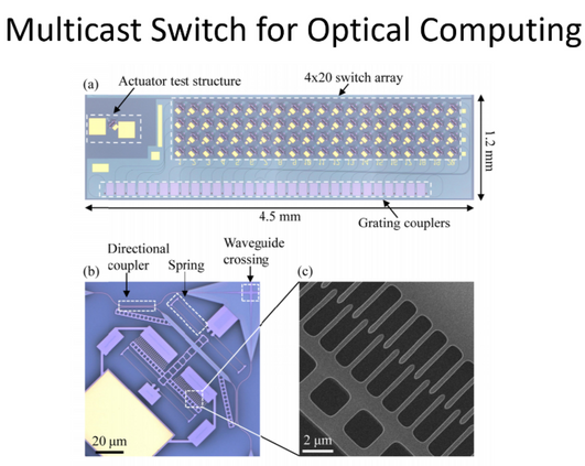 Multicast Switch for Optical Computing.P