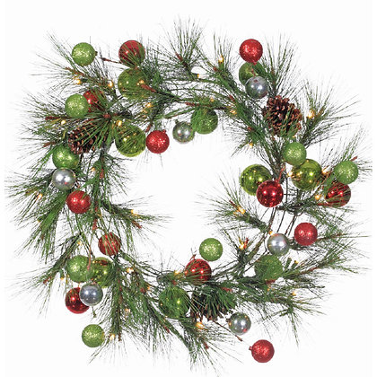Holiday Pine Wreath