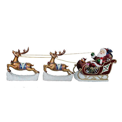 Reindeer on Sleigh