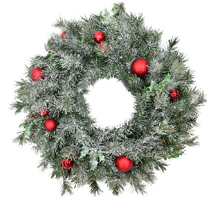 Christmas Frost Wreath