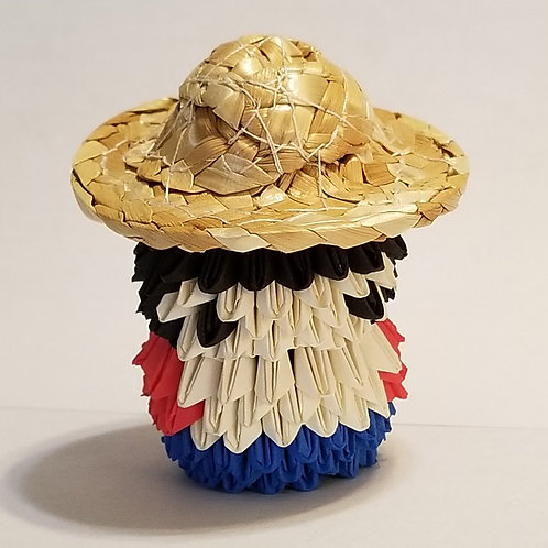 Luffy (One Piece) 3D Origami
