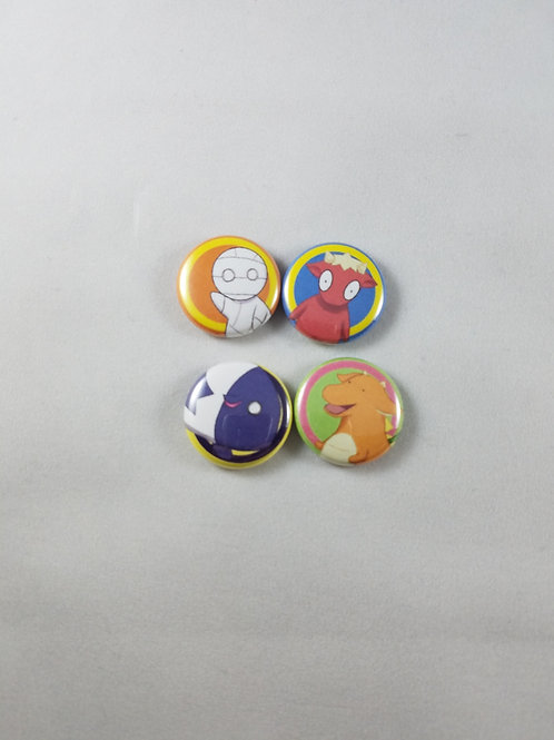 How to Keep a Mummy Buttons/Magnet Set