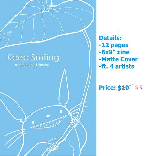 Keep Smiling: Studio Ghibli Zine