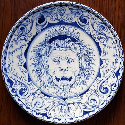 Italian Ceramics plates 30,5cm