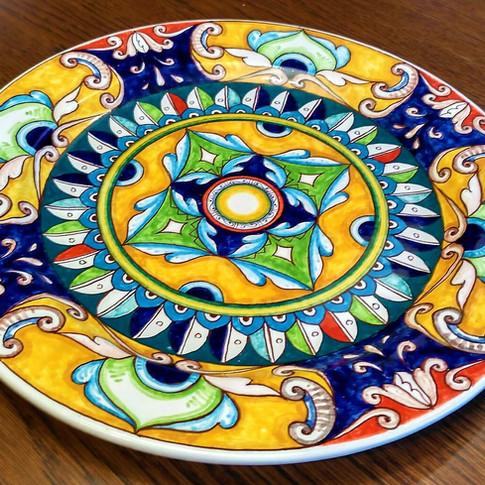 Italian Ceramics plates 30cm
