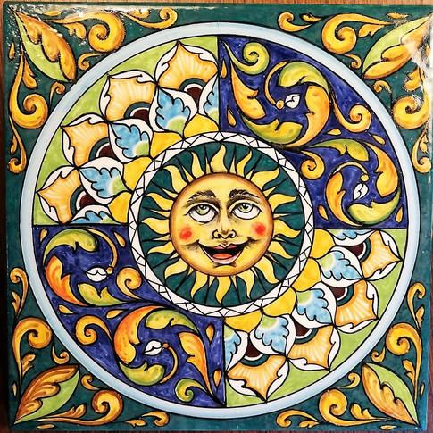 Italian Ceramic tiles italian Hand Painted Made in Italy